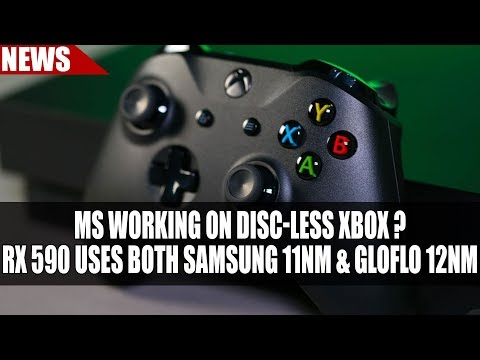 Discless Xbox Console Incoming ?? | RX 590 = Silicon Lottery With Both 11nm & 12nm
