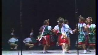 На зеленім лузі у веселім крузі Українські народні танці Ukrainian folk dance music