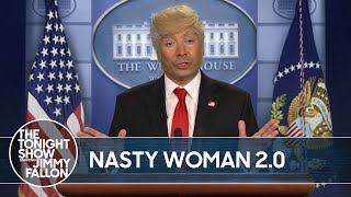 "Trump Calls Kamala Harris ""Nasty"" 