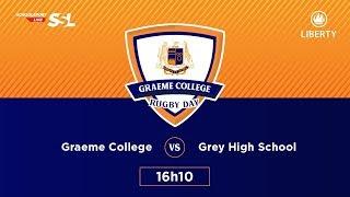 Graeme College Rugby Day - Graeme College XV vs Grey High XV, 24 March