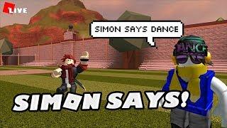 Roblox Jailbreak Live!🔴| Simon says🔥| Come Join me!😄💖