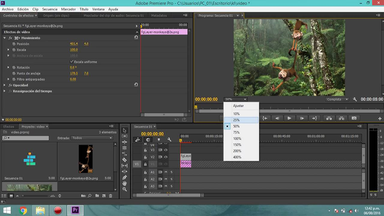 Como, aprender a crear animaciones con [Adobe Premiere CC]