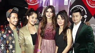Mere Mehboob Song Launch Awez Darbar And Nagma Jannat Zubair Mr Faisu Avneet Kaur