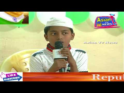 Asian Tv News. Republic Day Celebration At Learners Academy In Hafez Baba Nagar Hyd Telangana.