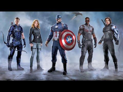 Captain America - Team Cap   full press conference Los Angeles (2016) Marvel
