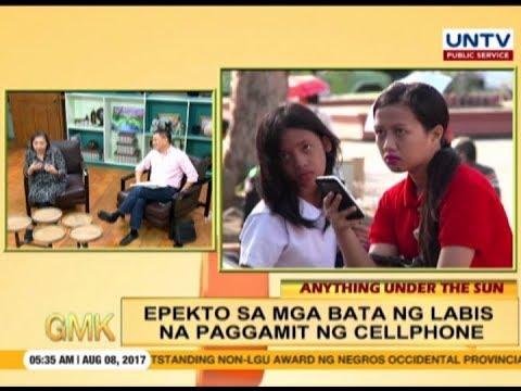 Magandang epekto ng paggamit ng cellphone