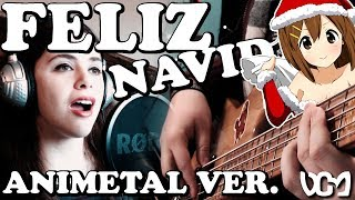 FELIZ NAVIDAD goes ANIMETAL?! ft. Psamathes「Jose Feliciano Cover」 // Dacian Grada ReMix