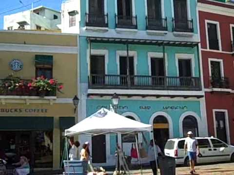 The Streets of San Juan, Puerto Rico
