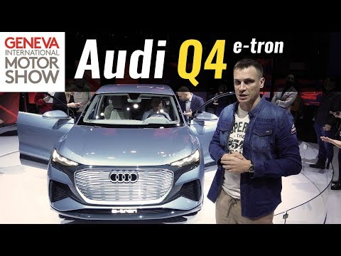 Audi e-tron 1-е поколение Кроссовер