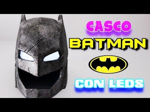 CASCO DE BATMAN CON LUCES LED | IMPRESORA 3D | Batman Helmet with LED lights | Printer 3D