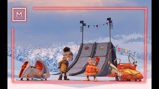 Снігові перегони український тизер