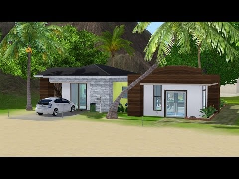 Sims 3 House Building - Green Aura