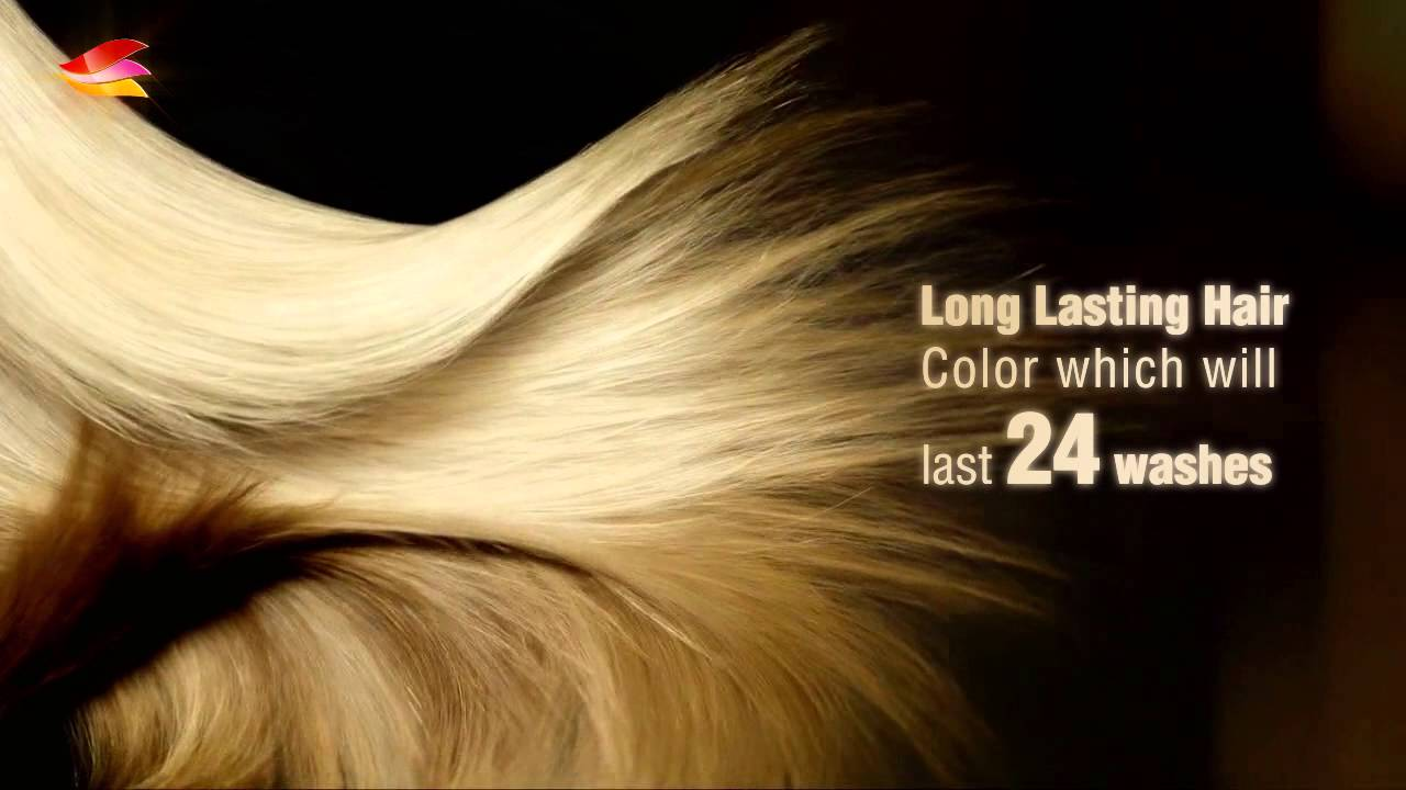 advertising video hair color