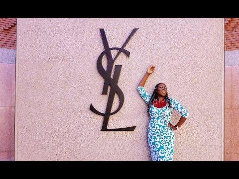 VLOG: YVES SAINT LAURENT MUSEUM, JARDIN MAJORELLE, Marrakesh Morocco | | Fumi Desalu-Vold