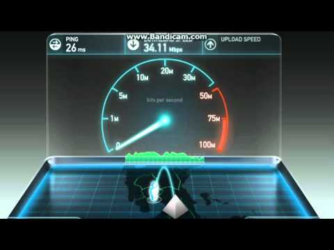 Speed Test   Laguna Area (Changing DNS)
