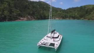 Luxurious Crowther 57ft sailing catamaran for sale -