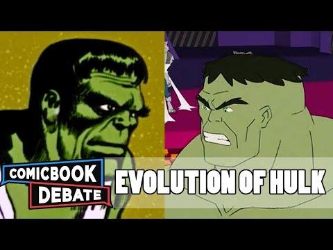 Evolution of Hulk in Cartoons in 14 Minutes 2017