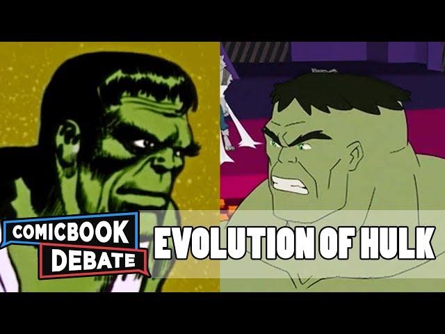 Evolution of Hulk in Cartoons in 14 Minutes (2017)