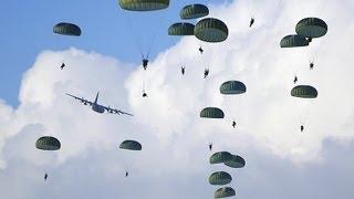 Paraquedistas da AFA - Força Aérea Brasileira: Primeiro Salto - Brazilian Air Force: First Jump