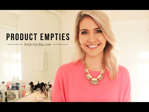 beauty-product-empties!