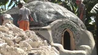 Haiti Earthship Project: Contained Sewage and Roof Insulation