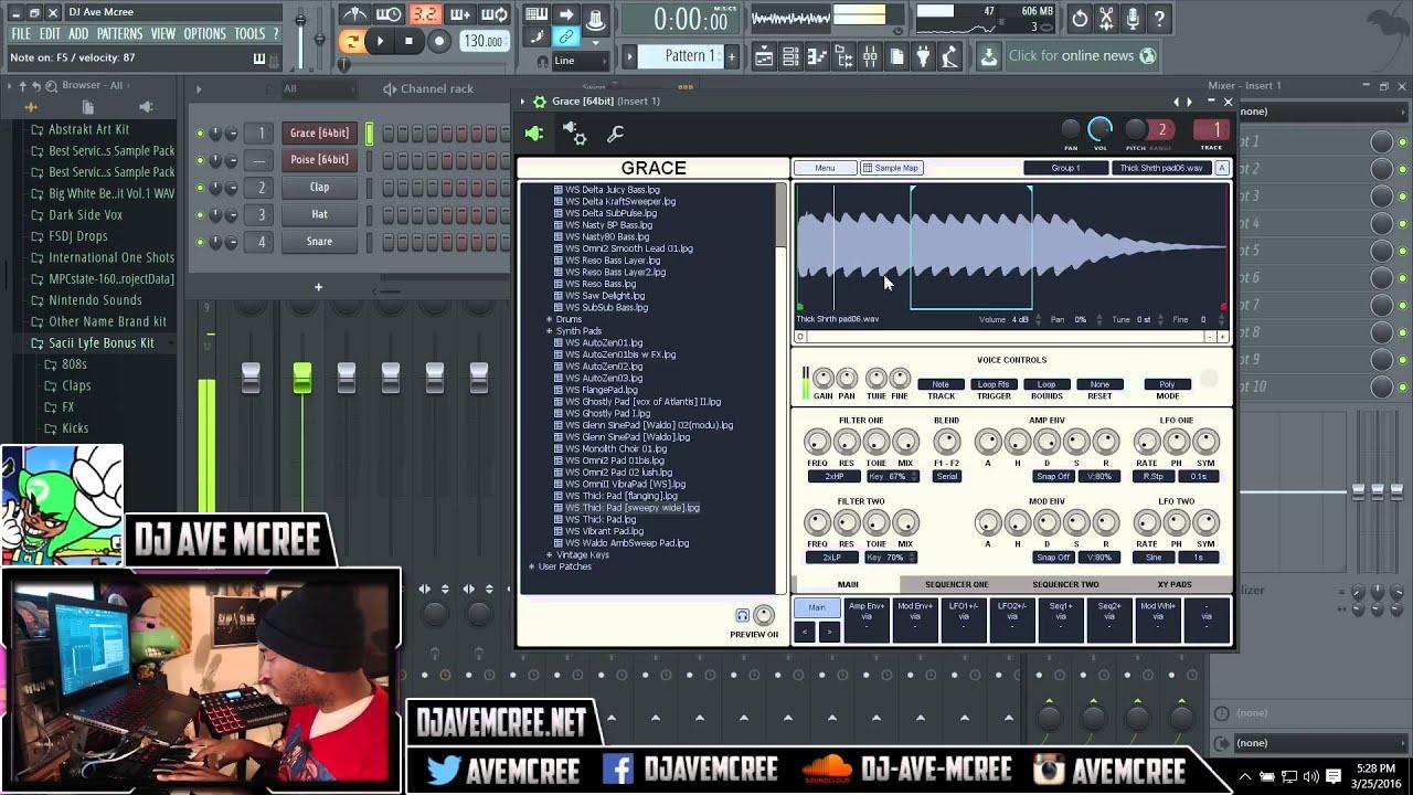 fl studio 12 vst loading as sampler