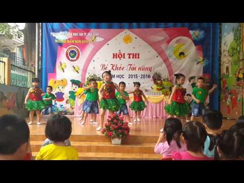 La la la dance- Lớp Lá 1, Mầm non Sơn ca