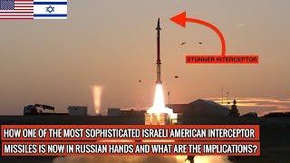 AMERICAN ISRAELI STUNNER MISSILE IN RUSSIAN HANDS | DEFENSE UPDATES