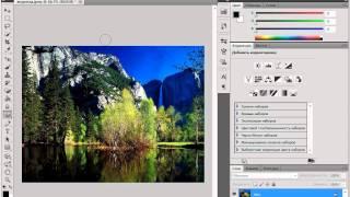 Инструмент «Губка» в Adobe PhotoShop CS5 (38/51)