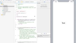 Being able to run Xcode and iOS simulator together in full screen m...