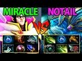 Miracle- [Invoker] vs Notail [Morphling] Dota2 7.01- Almost Comeback Intense Game