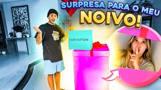 FIZ UMA SURPRESA DE TRÊS MESES DE NOIVADO!!!