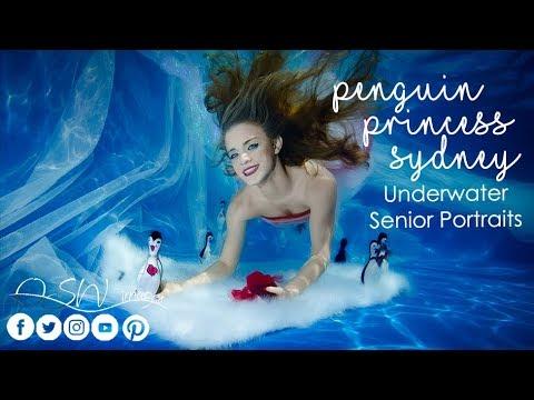 Underwater Penguin Princess