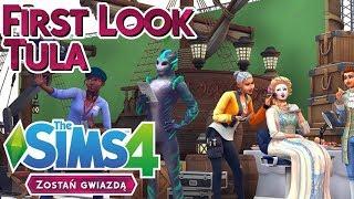 First Look I The Sims 4 ZOSTAŃ GWIAZDĄ | Cas