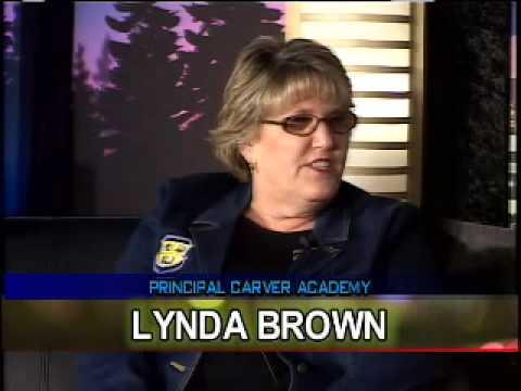(Feb08) Principal Lynda Brown, Carver Elementary School