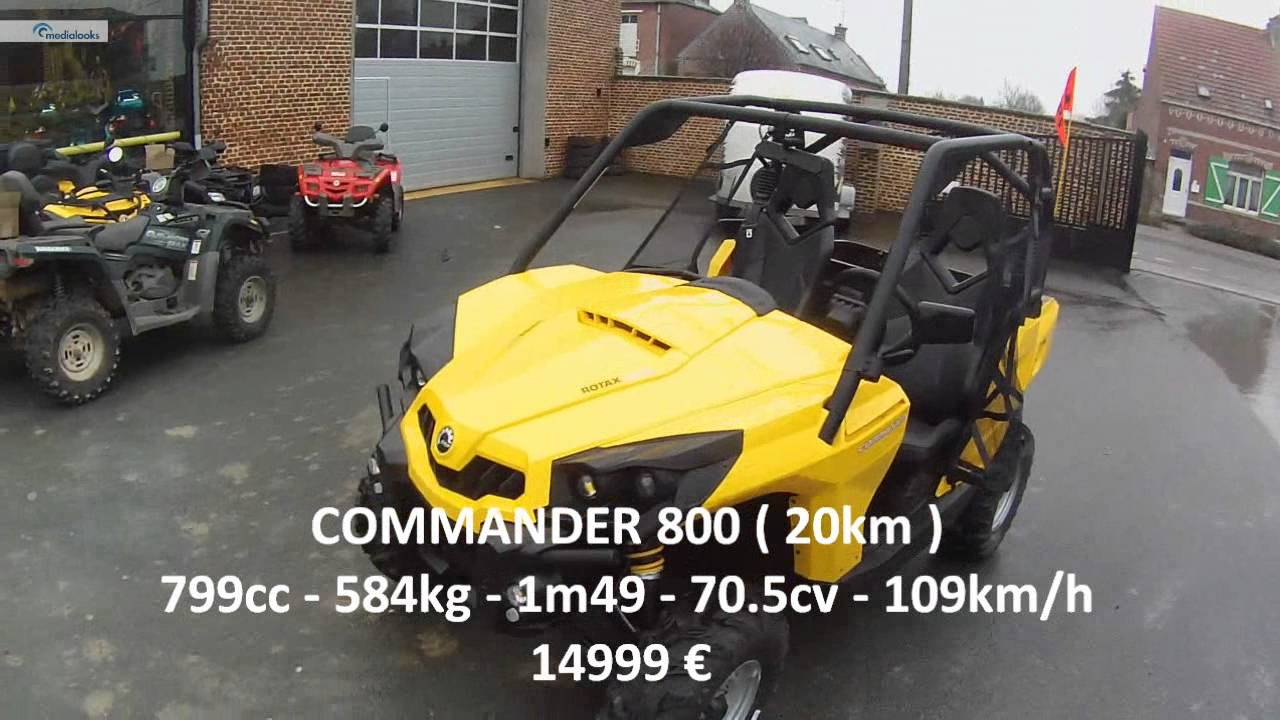 rzr 800 s vs commander 800 [ 1280 x 720 Pixel ]