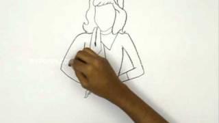 How to Draw Dophne - Scooby Doo