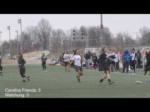 Carolina Friends School vs Watchung Hills | Girl's Semifinal at 2017 YULA Invite