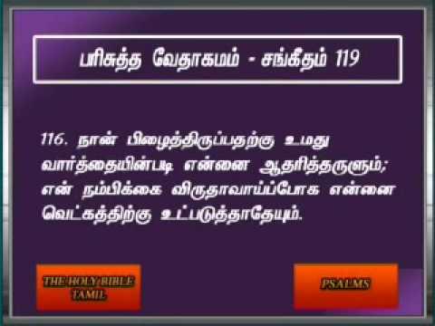 Psalms 119 Tamil Video Bible