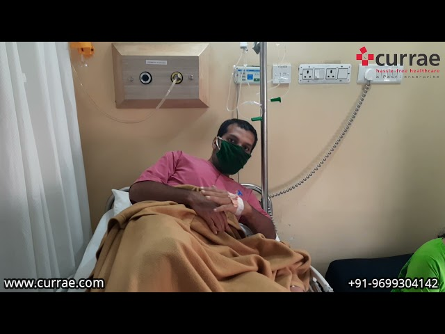 Mr. Sunildutt Kandpal | General Surgery | Dr. Mandar gadgil | Currae Hospitals