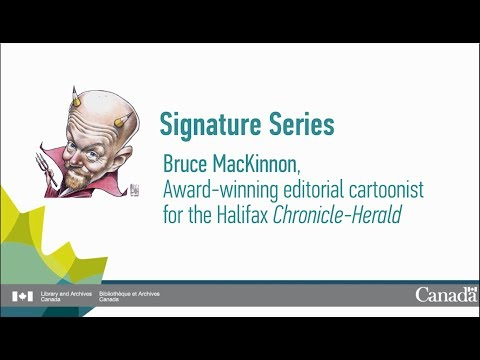 Signatures Series: Interview with Bruce MacKinnon