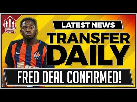 Fred DEAL CONFIRMED? Man Utd Transfer News thumbnail