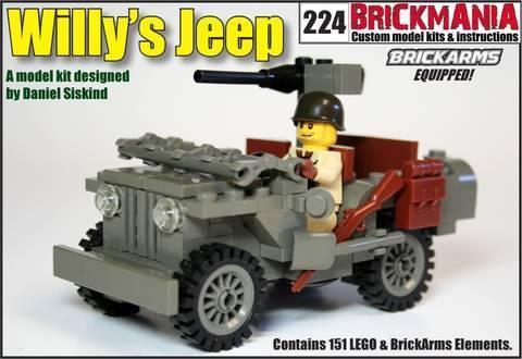 Lego Brickmania Willys Jeep Review Youtube