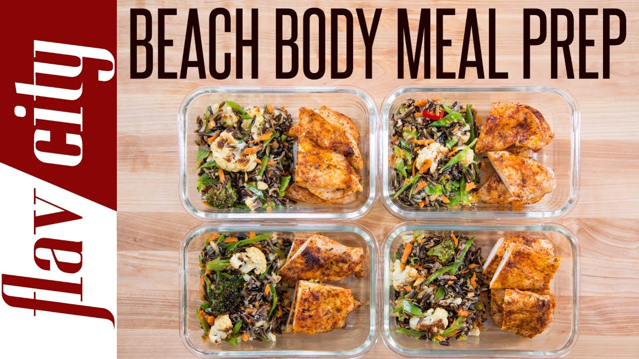 beach body meal prep - tasty weight loss recipes with chicken