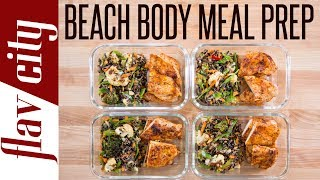 I've got some meal prep for weight loss that will get you ready beach season. this is one of the best chicken breasts recipes can make juicy, ten...