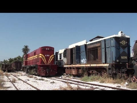 ALCo DL537 on Freight Duty at Korinthos Station.