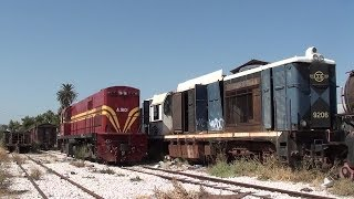 ALCo DL537 on Freight Duty at Korinthos Station