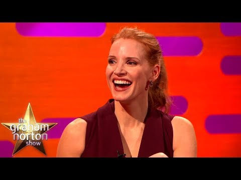 Jessica Chastain's Best Moments on The Graham Norton Show