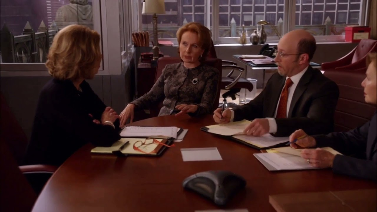 Download The Good Wife- Diane against a sitting Judge