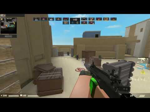 ROBLOX COUNTER BLOX MP7-SD KILL MONTAGE #2